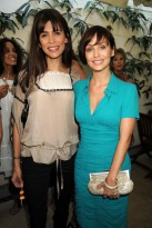 Marie Claire celebrity photos: Tara Smith Natural and Organic Haircare Range Launch, Lisa B and Natalie Imbruglia