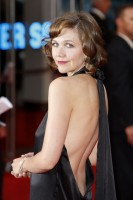 Marie Claire celebrity photos: The Dark Knight film premiere, Maggie Gyllenhaal