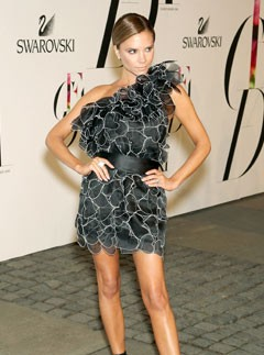 Victoria Beckham in Marc Jacobs at CFDA Fashion Awards, 2 June