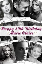 Marie Claire celebrity photos: Birthday wishes