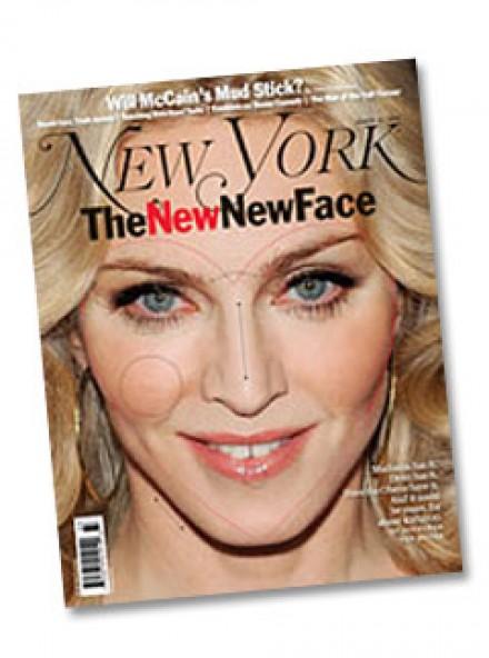 Madonna named ultimate face