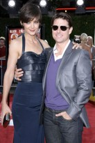 Marie Claire Celebrity Photos: Tropic Thunder, Tom Cruise and Katie Holmes