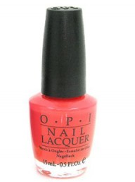 O.P.I Brights Collection Nail Lacquer in Atomic Orange