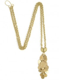 Marie Claire Fashion Buy of the Day: Oval Gold Pendant