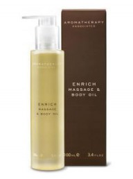 Aromatherapy Associates Enrich massage and body oil