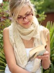 Marie Claire World News: Woman Reading a book