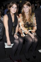 Marie Claire celebrity photos: London Fashion Week front row, Issa S/S 2009, Beatrice and Eugiene