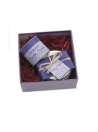 Ruby Red Organic Box of Calming Gorgeousness