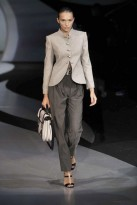 Marie Claire Fashion - Milan Fashion Week: Emporio Armani S/S 2009