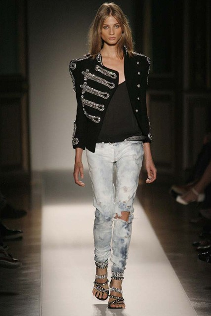Marie Claire Fashion: Paris Fashion Week: Balmain S/S 2009