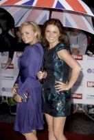 Marie Claire Celebrity Gallery: Pride of Britain Awards, Emma Bunton and Geri Halliwell