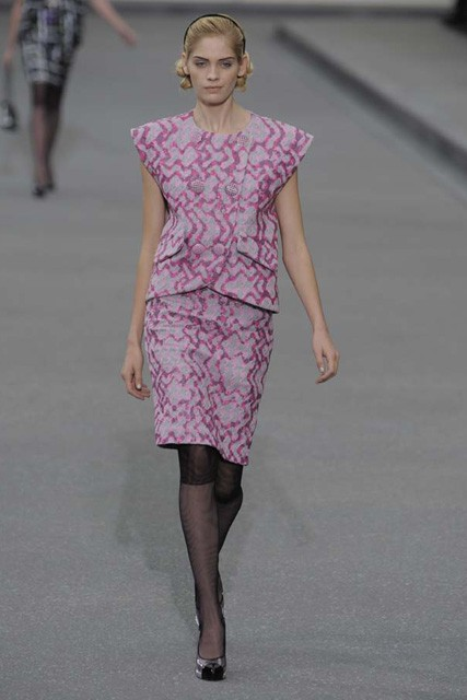 Marie Claire Fashion: Paris Fashion Week: Chanel S/S 2009