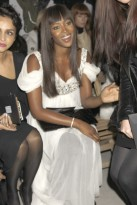 Marie Claire Celebrity Photos:Alexander McQueen Fashion Show Spring/Summer 2009, Naomi Campbell