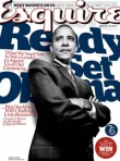 Marie Claire World News: Barack Obama - US Esquire magazine cover