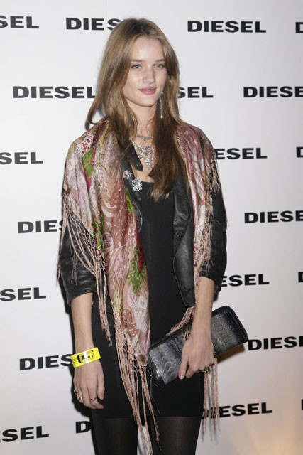 Marie Claire Red Carpet: The Diesel xXx Party - Rosie Huntingdon-Whiteley