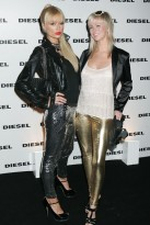 Marie Claire Red Carpet: The Diesel xXx Party - Paris Hilton & new friend