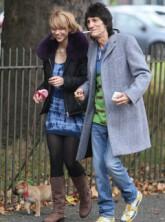Marie Claire Celebrity News: Ronnie Wood and Ekaterina Ivanova