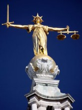 Marie Claire news: Law court statue