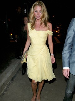 Kate Moss at Another Magazine party, September 2003
