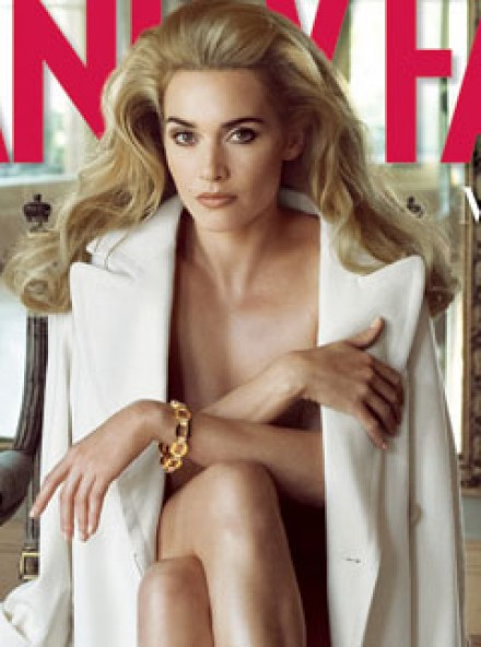 kate winslet naked in vanity fair