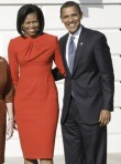 Marie Claire World News: Barack and Michelle Obama