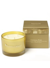 Marie Claire Lifestyle: Christmas box with candle