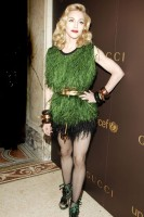 Marie Claire celebrity pictures: Gucci Launches the Tattoo Heart Collection to Benefit UNICEF, Madonna