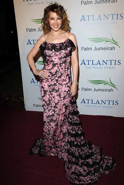 Marie Claire Celebrity Photos: The Atlantis Hotel launch party, Kylie Minogue