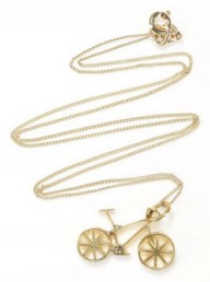 Fifi Bijoux Bicycle Pendant at Adili.com