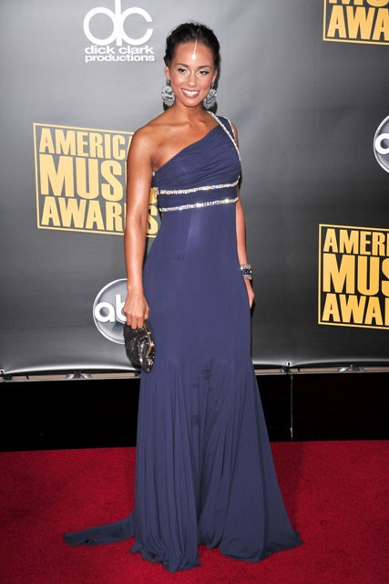 Marie Claire Celebrity Photos: American Music Awards, Alicia Keys