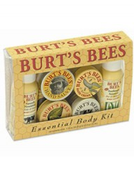 Marie Claire Beauty: Burt's Bees Essential Body Kit
