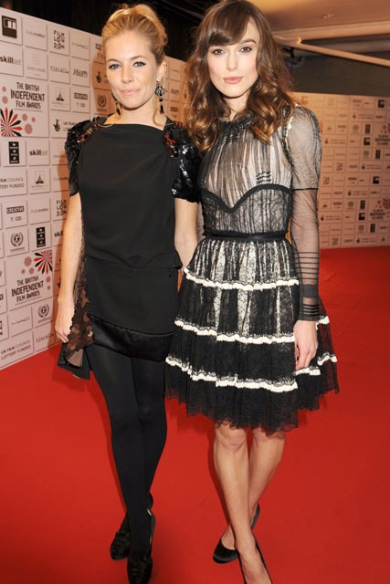 Sienna Miller and Keira Knightley, Celebrity Pictures, Celebrity Style Spy, Marie Claire