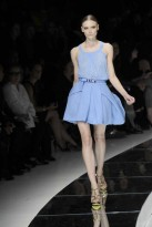 Versace, The Blue Trend, Spring/Summer 09, fashion photos, Marie Claire