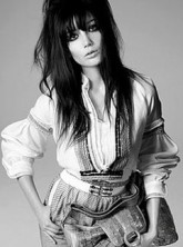 Daisy Lowe for Pringle