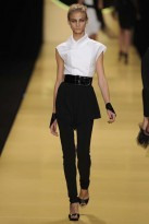 Lagerfeld, The Monochrome Trend, Spring/Summer 09, fashion photos, Marie Claire