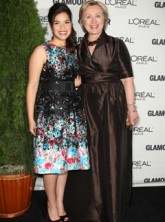 America Ferrera and Hillary Clinton, Celebrity news, Marie Claire