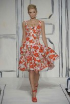 Oscar de la Renta, The Prints Trend, Spring/Summer 09, fashion photos, Marie Claire