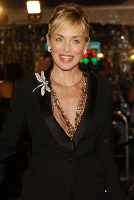 Sharon Stone, The Curious Case of Benjamin Button, Celebrity Photos, Marie Claire