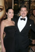 Angelina Jolie and Brad Pitt, The Curious Case of Benjamin Button, Celebrity Photos, Marie Claire