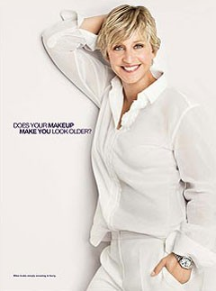Ellen DeGeneres for CoverGirl and Olay, Beauty, Celebrity news, Marie Claire