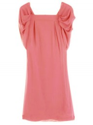 Paul & Joe coral chiffon dress at my-wardrobe.com