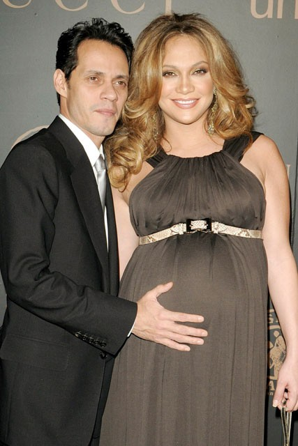 Jennifer Lopez and Marc Anthony, Celebrity babies, Celebrity Pictures, Marie Claire