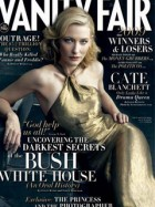 Cate Blanchett on the cover of Vanity Fair
