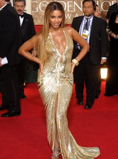 Marie Claire celebrity photos: Best Dressed Golden Globes - Beyonce