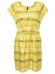 Whistles Lithograph print dress