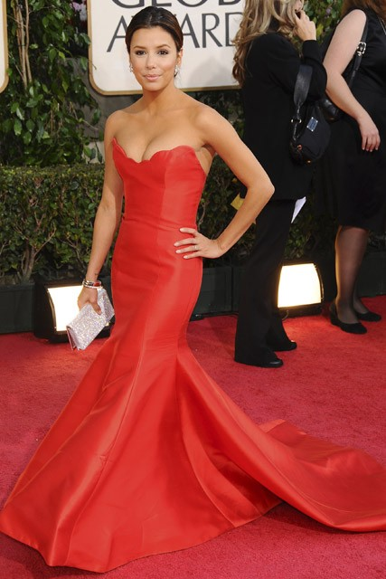 Eva Longoria, Celebrity photos, Golden Globes Awards 2009, Marie Claire