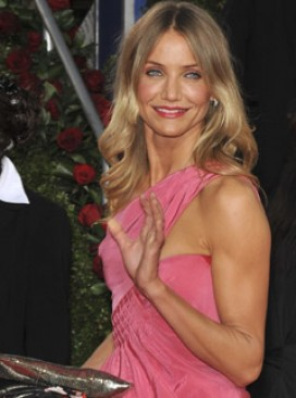 Cameron Diaz, Golden Globes 2009, Celebrity Photos, Marie Claire