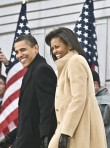 Barack Obama and Michelle Obama-Barack Obama Inaugural Celebration concert, Celebrity Photos, Marie Claire
