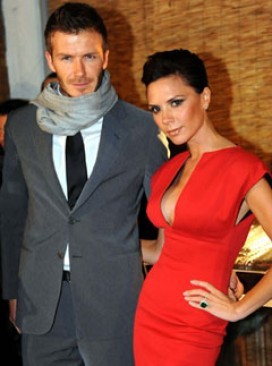 Victoria Beckham and David Beckham, Celebrity Photos, Fashion, Marie Claire