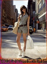 Daisy Lowe for DKNY, celebrity news, Marie Claire